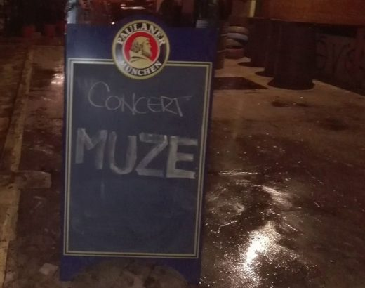 panou concert muze