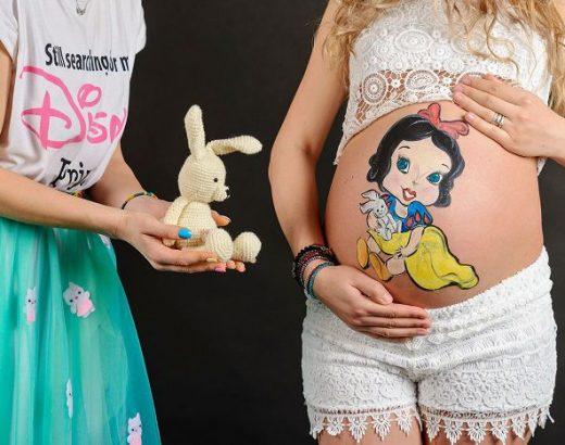 desene pe burta gravidelor