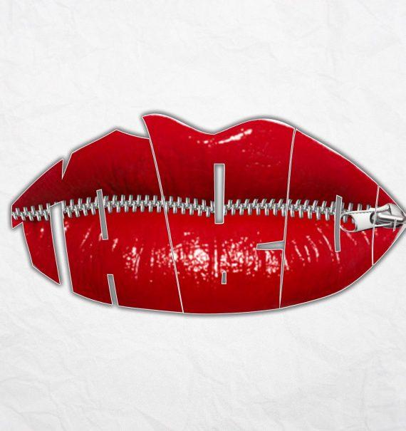 buze rosii de femeie